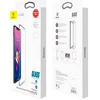 Защитное стекло Baseus (OR) All-Screen Tempered Glass iPhone XS Max/11 Pro Max (SGAPIPH65-TN01) Black (0.2mm)