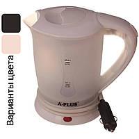 Автомобильный чайник с чашками от прикуривателя 12V A-PLUS 0.5 л