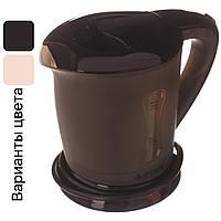 Автомобильный чайник с чашками от прикуривателя 12V A-PLUS 0.5 л Черный