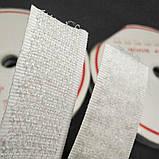 Липучка швейная пришивная 3 см Белая 22,5 м. (СИНДТЕКС-0040), фото 3