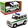 Машинка игрушечная автопром «Инкасаторская машина» (свет, звук, пластик), 18х7х10 см (7659-2)