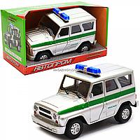 Машинка игрушечная автопром «Инкасаторская машина» (свет, звук, пластик), 18х7х10 см (7659-2), фото 1
