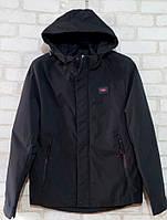 Куртка демисезонная мужская норма размеры 48-56, черного цвета