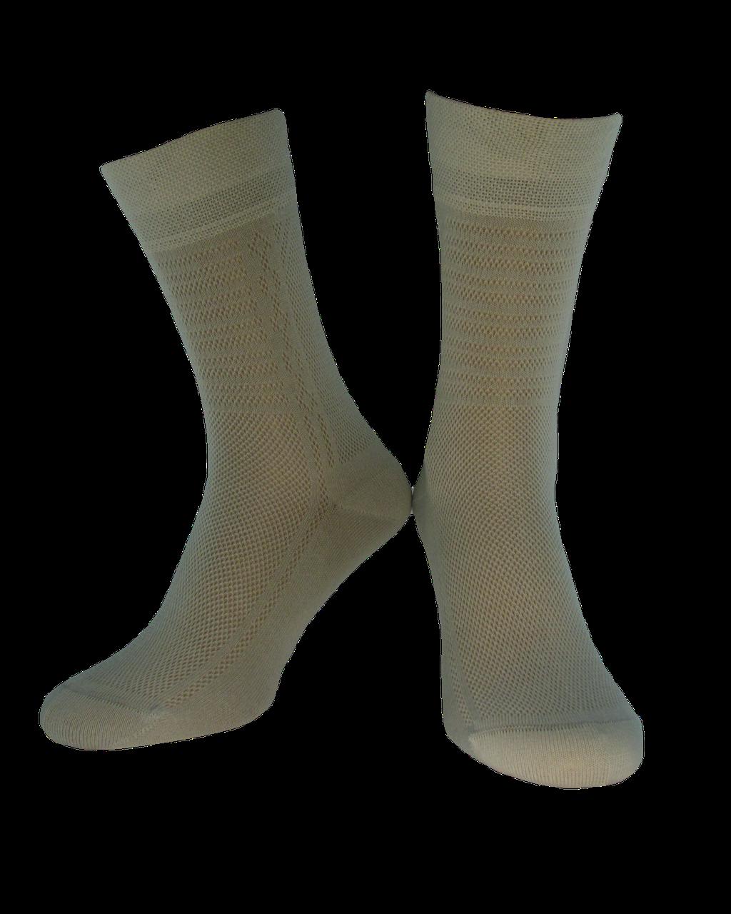 Шкарпетки чоловічі Дюна 226 світло-сірий