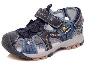 Дитячі ортопедичні сандалі (босоніжки) для хлопчика з підсиленим носком р. 26-31