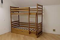 Ліжко двоярусне з підйомним механізмом Шрек., фото 1