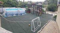 Резиновое покрытие для бассейна. 1000х1000 мм. Толщина 30 мм, фото 1
