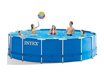 Каркасный бассейн Intex 28242 - 0 New (чаша, каркас), 457 х 122 см