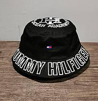 Мужская панама лето Tommy Hilfiger черная Турция. Много других брендов