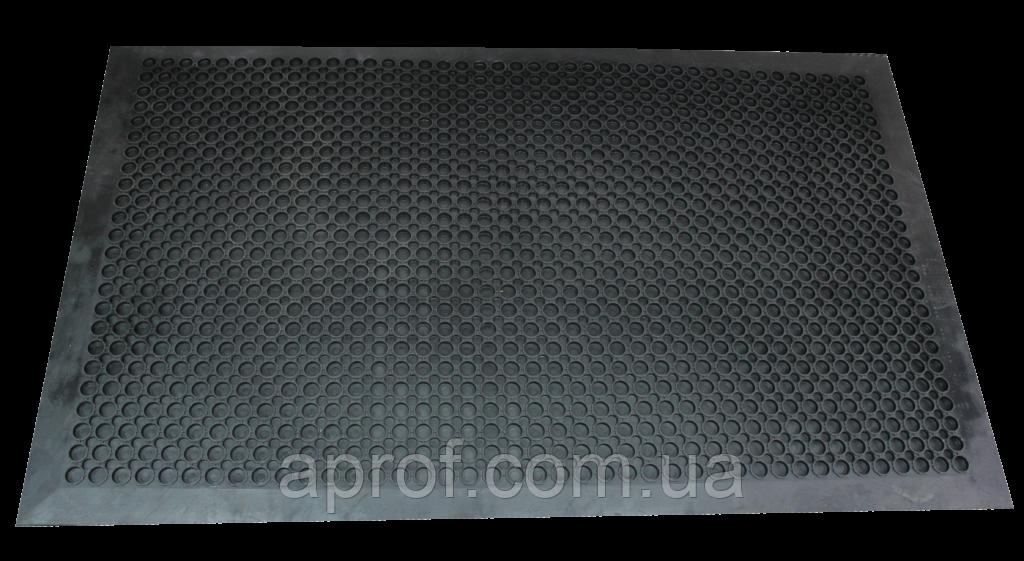Коврик резиновый соты (1500х916х12 мм) цельный