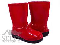 Резинові черевики Lemigo  червоний