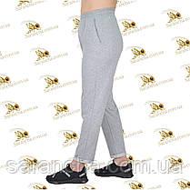 Літні брюки-спідниці двунітка меланж розміри від 50 до 58