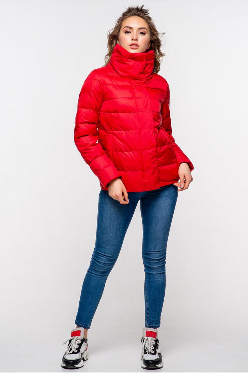 Женская стильная весенняя куртка  Неолина, 42-50