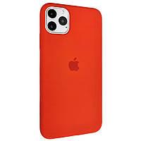Чехол-накладка Silicone Case Full Cover для Apple iPhone 11 Pro Max (red)
