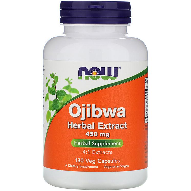 "Травяной экстракт оджибве NOW Foods ""Ojibwa Herbal Extract"" 450 мг (180 капсул)"