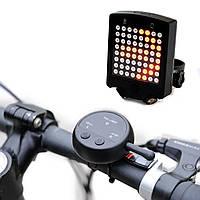 64 LED Беспроводной Дистанционный Лазер Задний фонарь для велосипеда Сигналы поворота велосипеда Сигнальная ла