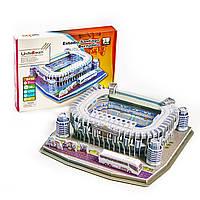 """Стадион Реал Мадрид. Огромные 3D пазлы """"Santiago Bernabéu""""  Трехмерный конструктор-головоломка."""