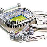 """Величезні 3D пазли """"Santiago Bernabéu"""" Тривимірний конструктор-головоломка Стадіон Реал Мадрид, фото 4"""