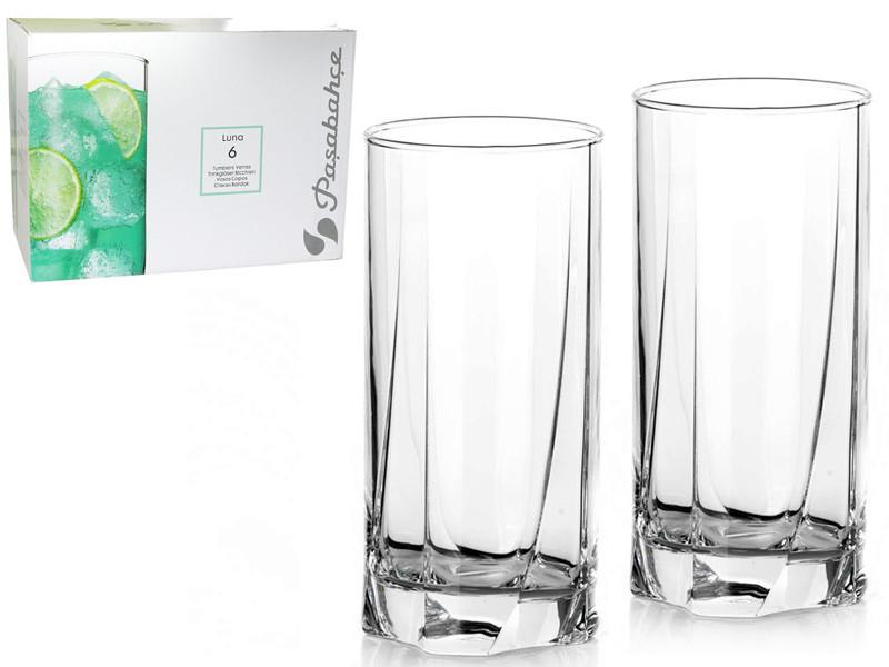 Набор стаканов высоких Pasabahce Луна 390 мл 6 шт (42358)