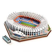 """Стадион Пари Сен-Жермен. Огромные 3D пазлы """"Parc des Princes""""  Трехмерный конструктор-головоломка."""