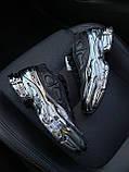Женские кроссовки Adidas Raf Simons Ozweego Core Black Silver Metallic, кроссовки адидас раф симонс озвиго, фото 4