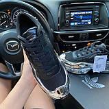 Женские кроссовки Adidas Raf Simons Ozweego Core Black Silver Metallic, кроссовки адидас раф симонс озвиго, фото 2