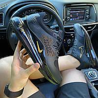Мужские кроссовки Nike Air Max 720 Black Gold (черно-золотые) C-1920