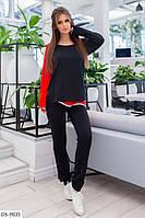 Молодежный женский спортивный костюм свитшот и штаны арт 2330