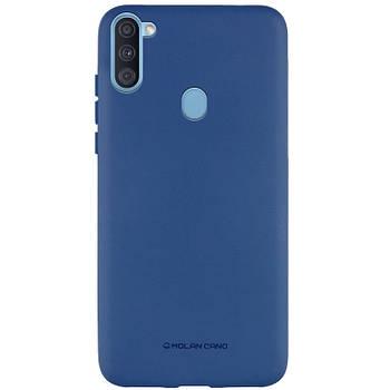 TPU чехол Molan Cano Smooth для Samsung Galaxy A11
