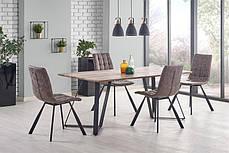 Прямокутний обідній стіл з МДФ на металевих ніжках, фото 3