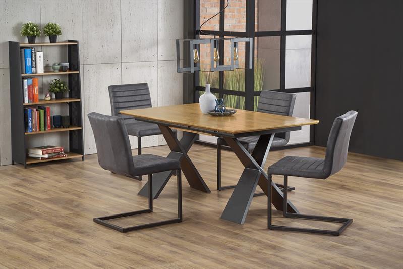 Стол обеденный CHANDLER 160-220/90/75 cm, дуб