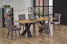 Стол обеденный CHANDLER 160-220/90/75 cm, дуб, фото 2