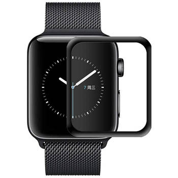 Полимерная пленка 3D (full glue) (тех.пак) для Apple watch 44mm