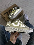 Мужские и женские кроссовки сетка Adidas Yeezy 700 v2, фото 2