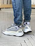 Мужские и женские кроссовки сетка Adidas Yeezy 700 v2, фото 3