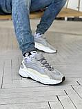 Мужские и женские кроссовки сетка Adidas Yeezy 700 v2, фото 5