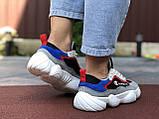 Жіночі кросівки Champion сірі з білим, червоні, фото 3
