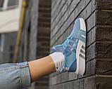 Женские кроссовки Adidas EQT Bask ADV Blue, фото 2