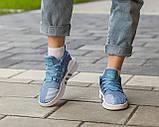 Женские кроссовки Adidas EQT Bask ADV Blue, фото 4