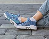 Женские кроссовки Adidas EQT Bask ADV Blue, фото 5