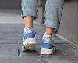 Женские кроссовки Adidas EQT Bask ADV Blue, фото 7