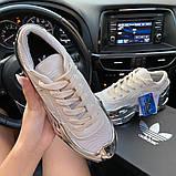 Женские кроссовки Adidas Raf Simons Rs Ozweego Cream White Silver Metallic, фото 4