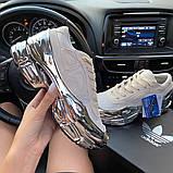 Женские кроссовки Adidas Raf Simons Rs Ozweego Cream White Silver Metallic, фото 5