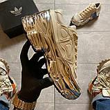 Женские кроссовки Adidas Raf Simons Rs Ozweego Cream White Silver Metallic, фото 6