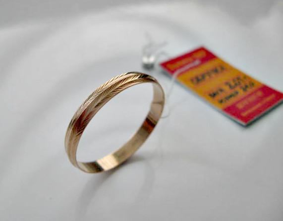 Мужские золотые обручальные кольца 21.5, 22.5, 24 размер