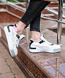 Кроссовки женские Puma Cali Sport Mix White/Black, фото 2