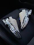 Женские кроссовки Adidas Raf Simons Rs Ozweego Cream White Silver Metallic, фото 2