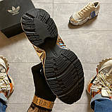 Женские кроссовки Adidas Raf Simons Rs Ozweego Cream White Silver Metallic, фото 3