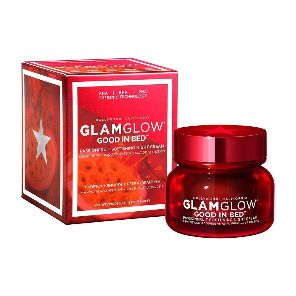 Ночной смягчающий крем с экстрактом маракуи GlamGlow Good in Bed Passionfruit Softening Night Cream 45 ml