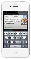 "Китайский Iphone 4S, White, дисплей 3.5"", 4Gb, Wifi. Мультитач оригинала!Заводская сборка!, фото 1"